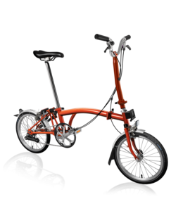 Brompton Brompton MY19 H6L Flame lacquer