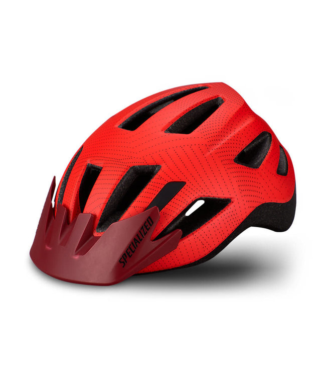 Specialized Specialized Helmet Shuffle Rocket Red/Crimson Dot Plane Child