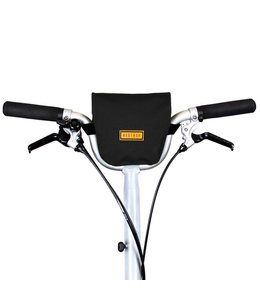 Restrap Restrap City Bar Bag Black Folding Bike