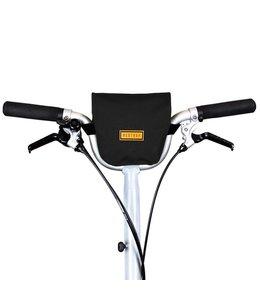 Restrap Restrap City Bar Bag Black Folding Bike