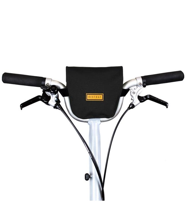 Restrap City Bar Bag Black Folding Bike