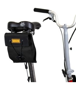 Restrap Restrap City Saddle Bag Small Black Folding Bike