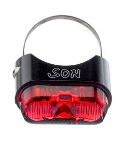 Son Schmidt Rear Light Black /Red Seat Post 26-32