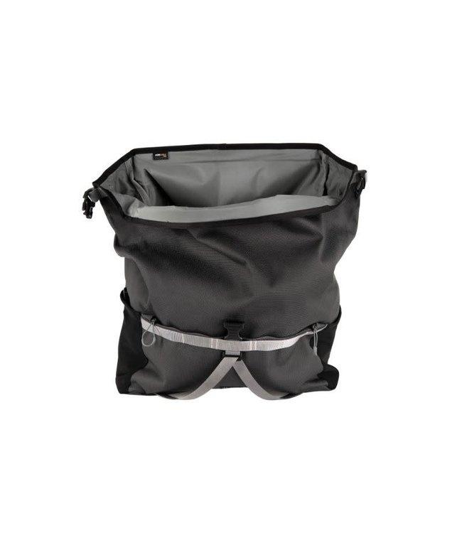 Brompton Brompton Borough Roll Top L Bag Dark Grey