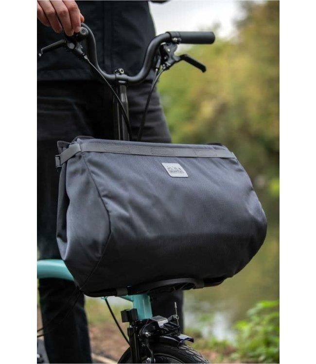 Brompton Brompton Borough Basket Bag Dark Grey