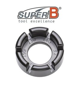 SuperB SuperB Spoke Wrench Multi Size Black