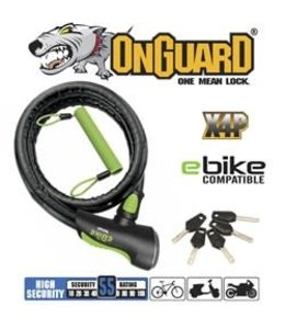 on guard Rottweiler Lock Armored For E Bike 180cm x 25mm