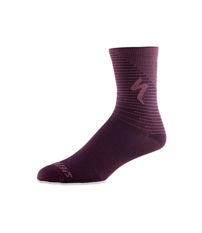 Specialized Specialized Sock Soft Air Tall Cast Berry Dusty Lilac Arrow