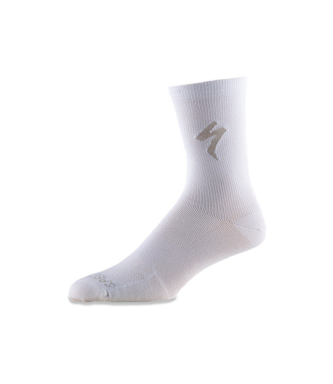 Specialized Specialized Sock Soft Air Tall White Arrow