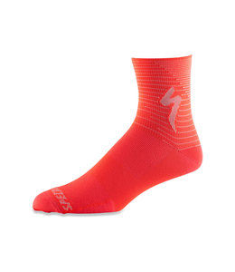 Specialized Specialized Sock Soft Air Mid Acid Lava/Ice Lava Arrow