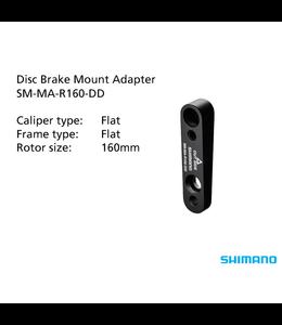 Shimano Disc Mount Adaptor SM-MA-R160-DD Black 160mm