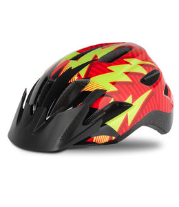 Specialized Specialized Helmet Shuffle SB Rocket Red Black Lightning Child
