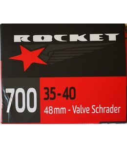 Rocket Tube 700 x 35/40 Schrader Valve 48mm