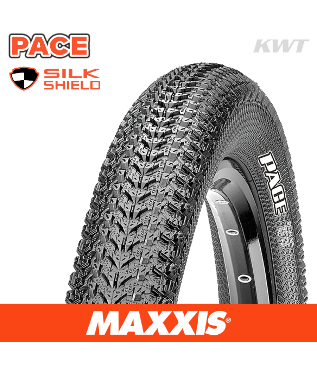 Maxxis Tyre Pace 27.5 x 1.95 Silkshield Wire Bead 60 TPI