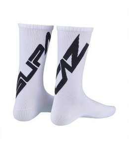 Supacaz Supacaz Socks White Black Small