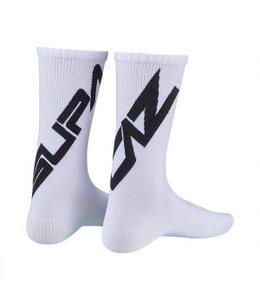 Supacaz Socks White Black med