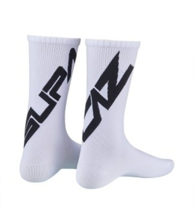 Supacaz Supacaz Socks White Black Large