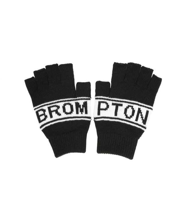 Brompton Brompton Knitted Gloves Logo Collection Black