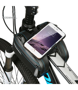Roswheel Top Bar Phone Bag Rotating Phone Holder Black