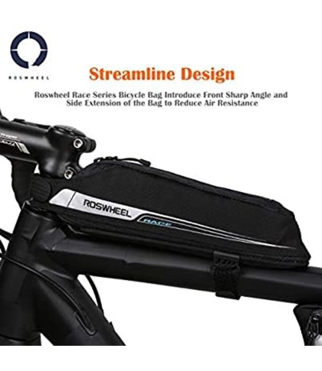 Roswheel Race Top Tube Bag 0.6L Black