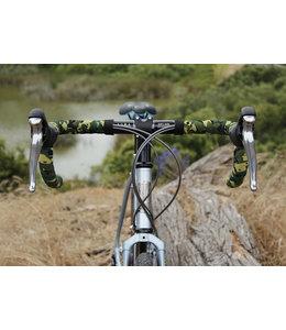 Soma Fabrications Soma Bartape Thick & Zesty Striated Camo Green