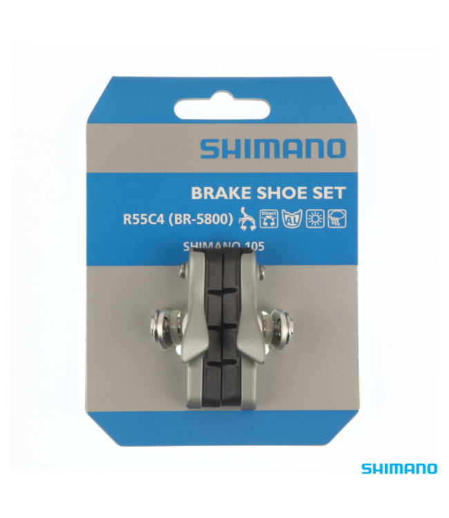 Shimano Shimano Brake Pads R55C4 (BR 5800)S Silver