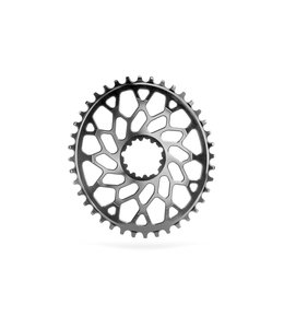 Absolute Black Absolute Black Oval chainring CX Black 38T Direct Mount