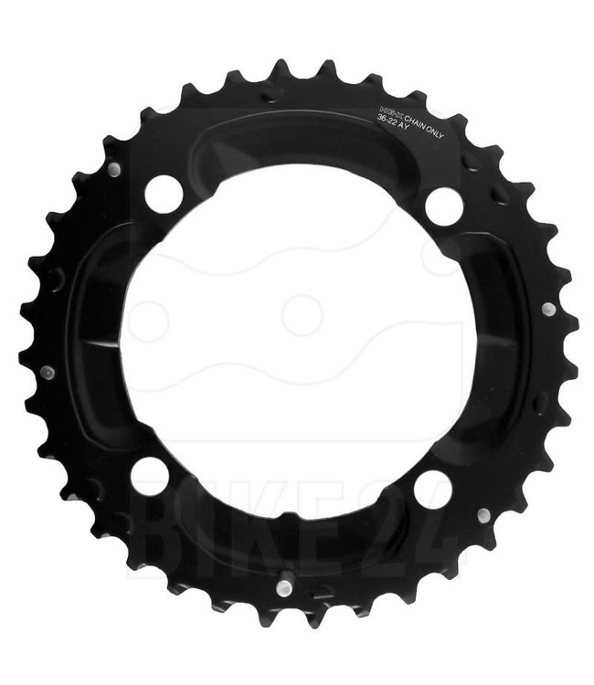 Shimano Shimano Chainring FC-M617 AY 36T Deore 2x10S 104BCD