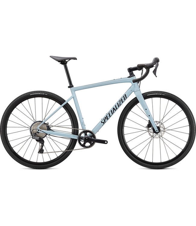 Specialized 2020 Specialized Diverge Comp E5 Gloss Ice Blue / Smoke / Chrome / Clean