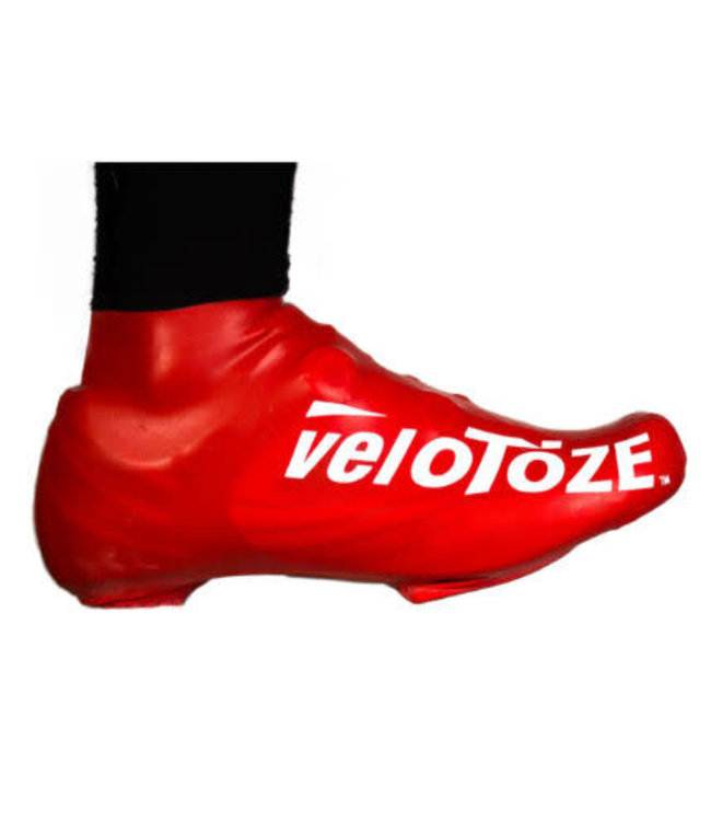 Velotoze Shoe Cover Short Red M