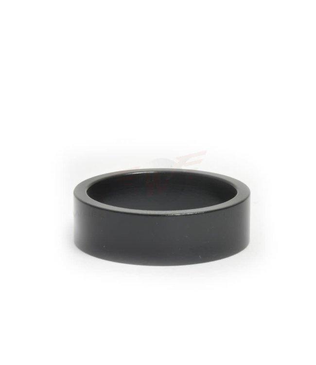 "Wheels Manufacturing Wheels Manufacturing 1-1/8"" 10mm Black Headset Spacer Black"