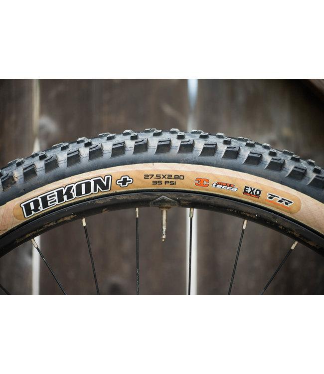 Maxxis Maxxis Tyre Rekon Plus 27.5 x 2.8 120tpi TERRA EXO 3C TR Tan Wall