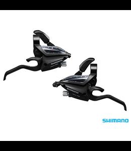 Shimano ST-EF500 - 7R2A & L2A EZ-Fire STI Set (Altus 3x7S Black)