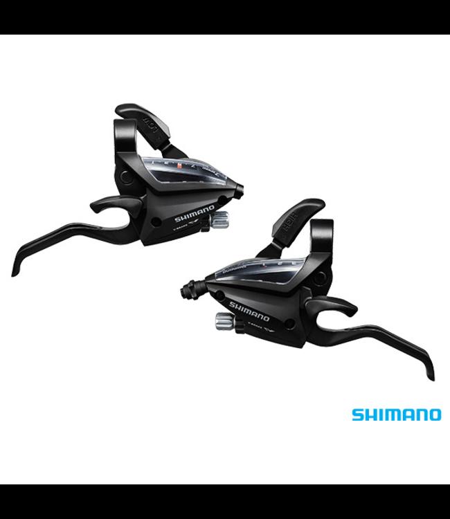Shimano Shimano ST-EF500 - 7R2A & L2A EZ-Fire STI Set (Altus 3x7S Black)