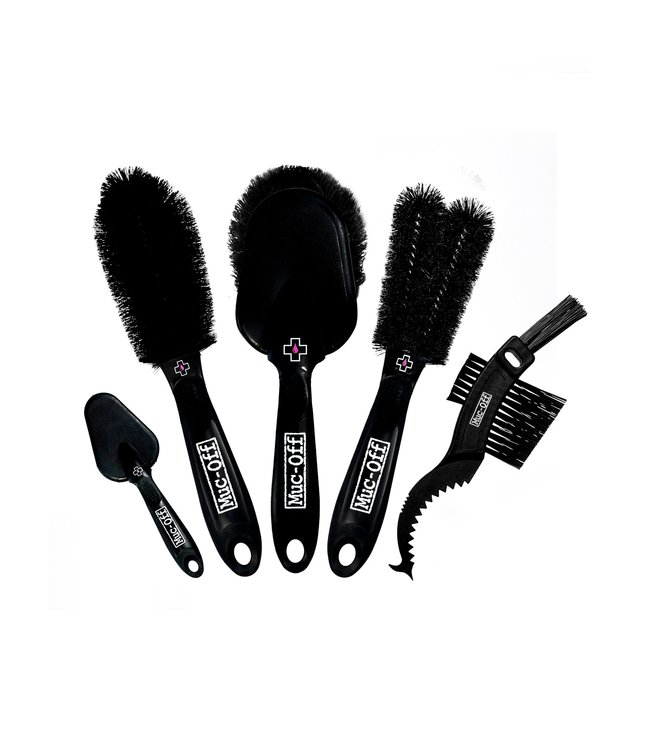 Muc-Off Cleaning Brush Deatiled 5 Pack