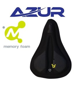Azur Saddle Cover Small MTB Bike Memory Foam