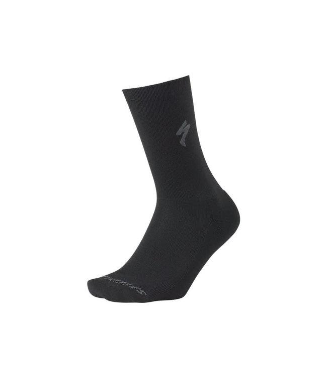 Specialized Specialized Sock Primaloft Lightweight Tall Black Lge