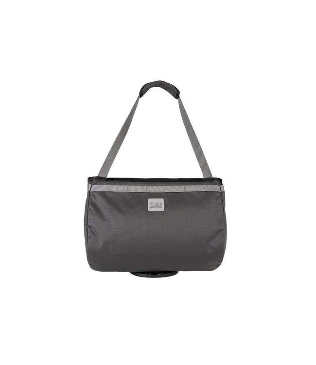 Brompton Brompton  Borough Basket Bag Large Dark Grey with Frame