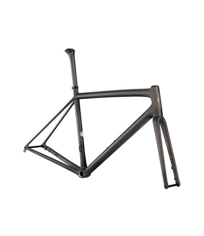 Specialized Specialized Aethos Frameset Size 56 Satin Carbon/Gloss Black Chrome