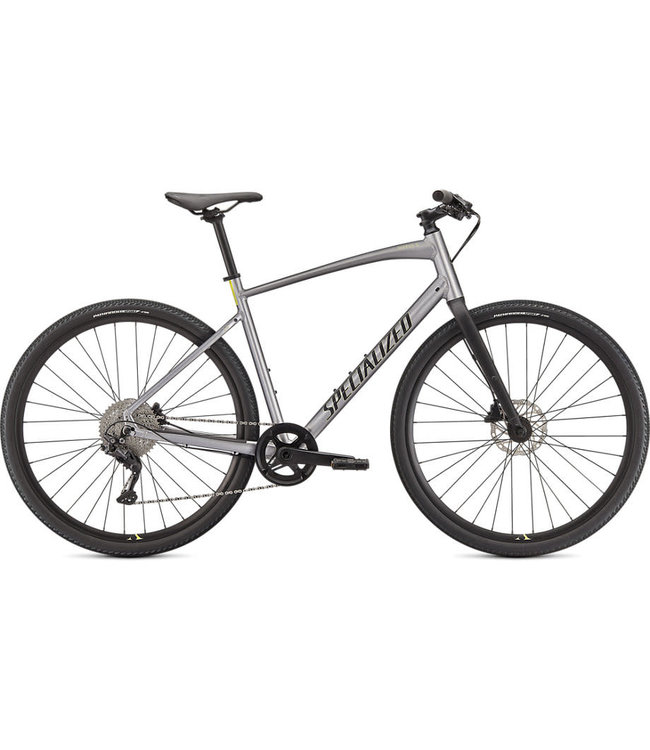 Specialized Specialized Sirrus X 3.0 Flksil/Iceyel/Blk Large