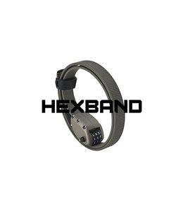 "Ottolock Hexband Combination Lock 18"" Grey"
