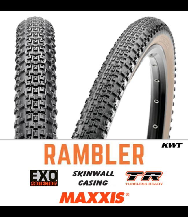 Maxxis Maxxis Rambler 700 x 40 EXO TR 60 TPI Tyre Tan Wall