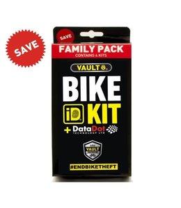 Vault DataDot Bike ID Kit Family Pack