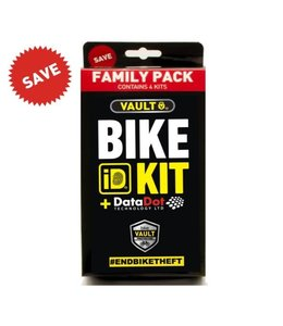 Vault Vault DataDot Bike ID Kit Family Pack