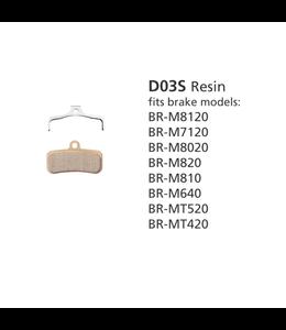 Shimano Shimano Disc Brake Pads BR-M8020 D03S Saint zee Deore XT
