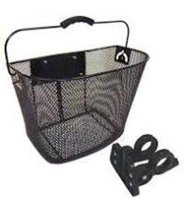 BPW Basket Front Mesh QR fixed Angle Black 25x34x25