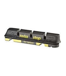 SwissStop Swiss Stop Flash Pro Black Prince Replacement pads for carbon rims Shimano / Sram Pack of 4