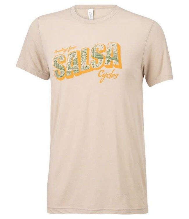 Salsa Salsa T-Shirt Wish You Were Here Medium
