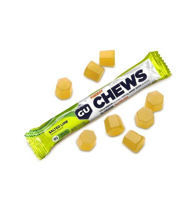 Gu Gu Energy Chews Salted Lime