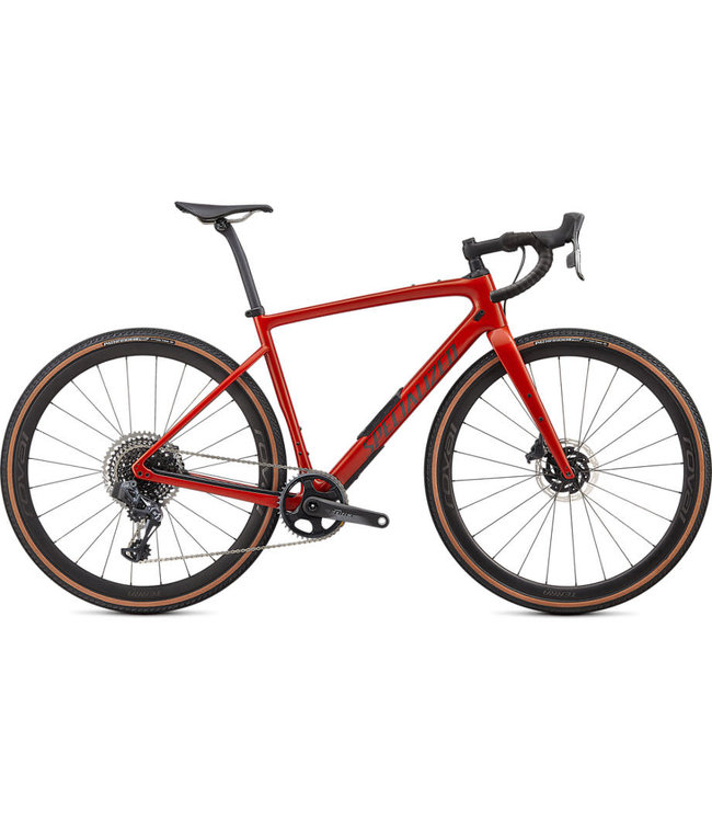 Specialized Specialized Diverge Pro Carbon eTap Gloss Redwood/Smoke/Chrome/Clean